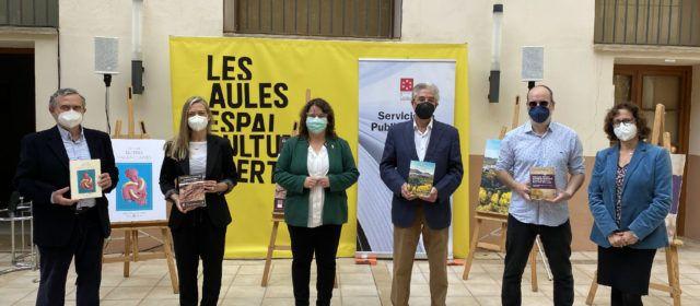 La Diputació posa en valor la història, patrimoni i llengua de Castelló amb el llançament de quatre llibres inspirats en la província