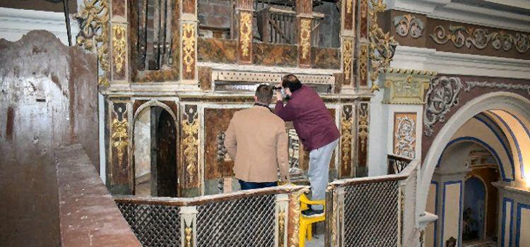 Un órgano con mucha historia en San Jorge