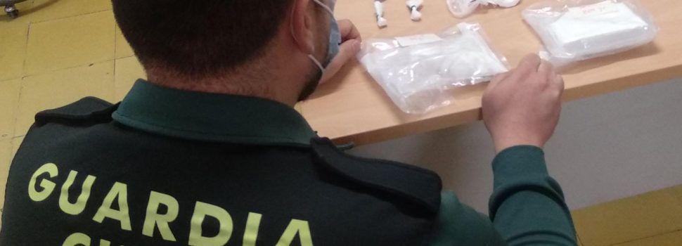 Detenido en l'Aldea el conductor de un taxi en el que se ocultaba cocaína para no levantar sospechas