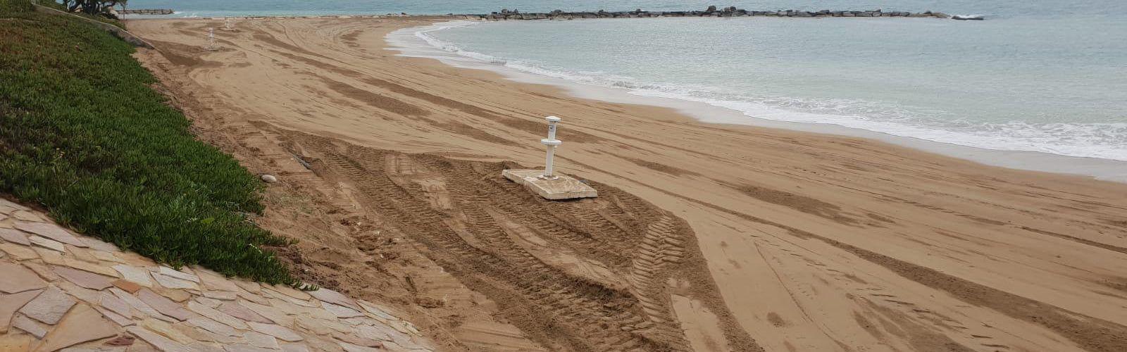Treballs d'adequació i millora del litoral de Vinaròs