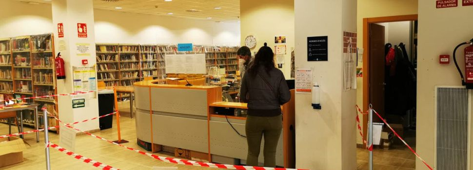 La Biblioteca Manel Garcia Grau torna a obrir per a l'estudi