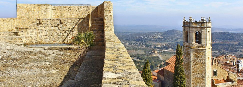 Ben Vist: castell de Cervera del Maestre