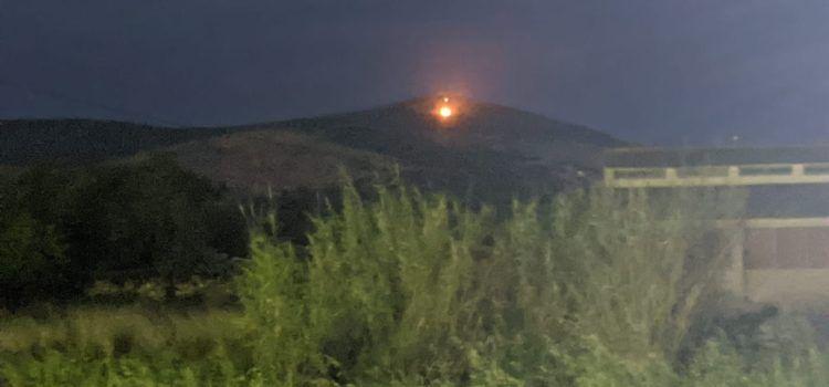 Incendi a la serra de Godall, Ulldecona