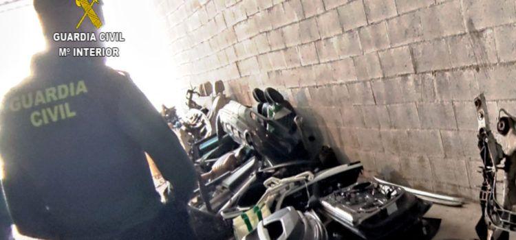 La Guardia Civil desarticula, después de robos en Peñíscola y Vinaròs, una organización delictiva especializada en sustracción de vehículos de alta gama