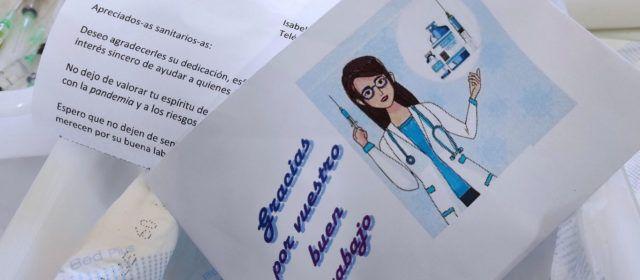 Agradecimiento a una enfermera