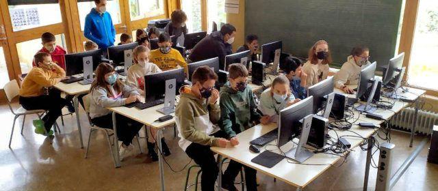 El col·legi de Morella participarà el dissabte en el campionat nacional de robòtica Amazon Challenge