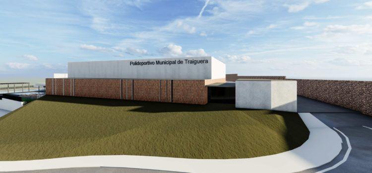 L'Ajuntament de Traiguera presenta el projecte de nou espai polivalent del poliesportiu