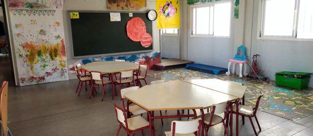 Vinaròs comptarà amb una nova aula d'Infantil de 2 anys