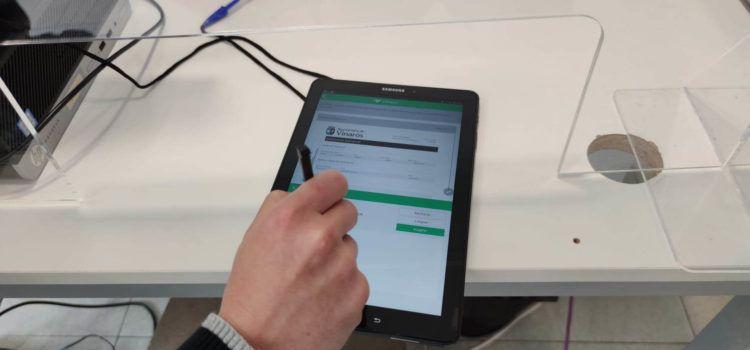 L'Ajuntament de Vinaròs implanta el sistema de firma biomètrica a l'OIAC