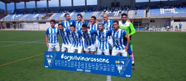 El Vinaròs C.F. goleja 3-0 al Càlig C.F. en el partit de tornada de públic