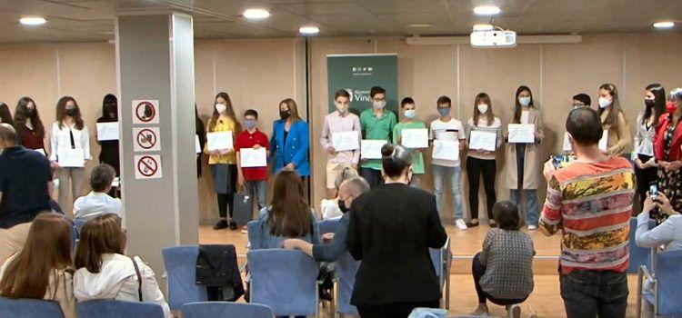 Vídeo: Lliurament a Vinaròs del reconeixement pels premis d'excel·lència acadèmica