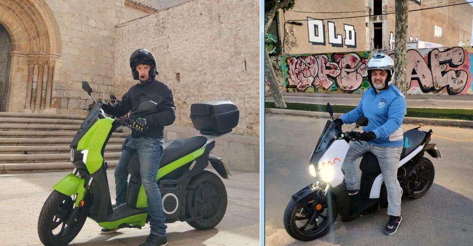La primera Volta a Espanya amb moto elèctrica arriba a Vinaròs aquest dissabte