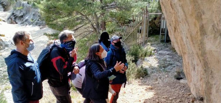 Portell inaugura la temporada de visites a l'Abric del Mas de la Rambla