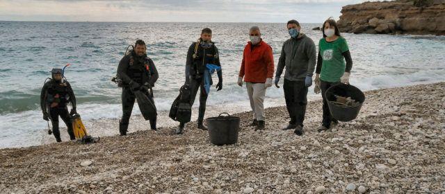 Agua Sub Vinaròs realitza una jornada de neteja del fons marí