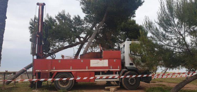 Trabajos geotécnicos previos a la construcción de la pasarela ciclo-peatonal del Cervol