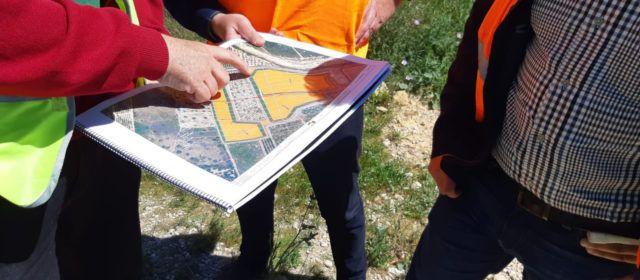 La Generalitat signa l'acta de replanteig per a l'inici de les obres de segellat de l'antic abocador de Vinaròs