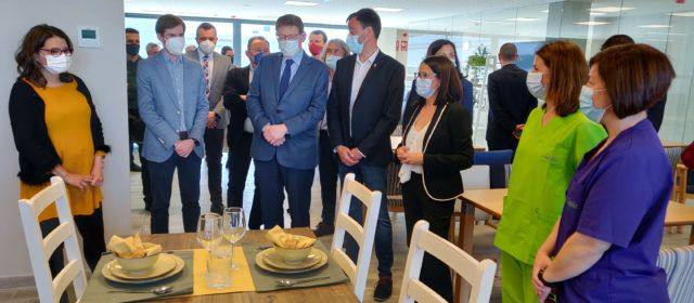 El president Puig i la vicepresidenta Oltra visiten la Residència Vinaròs