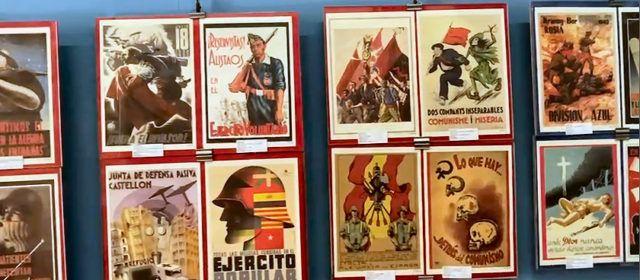 """Exposición en """"Amics de Vinaròs"""" de carteles de la guerra civil"""