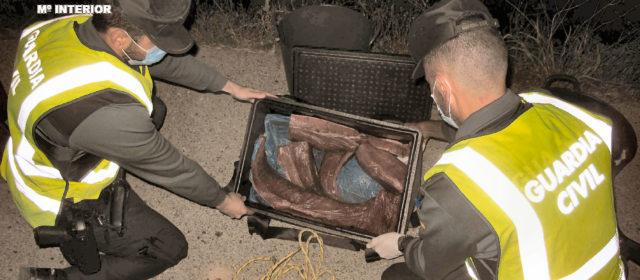 La Guardia Civil intercepta 28,5 kg de Atún Rojo en época de veda en Riumar (Deltebre)