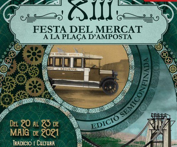 Amposta torna a principis de segle XX del 20 al 23 de maig amb la Festa del Mercat a la Plaça