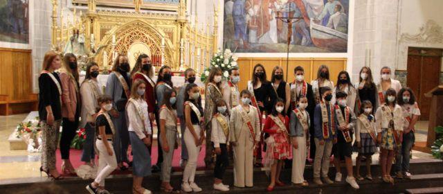 Misa vespertina de la Misericordia con asistencia de damas y cavallers
