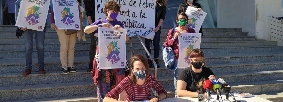 L'Assemblea Vaga Feminista de les Terres de l'Ebre denuncia barreres per exercir el dret a l'avortament