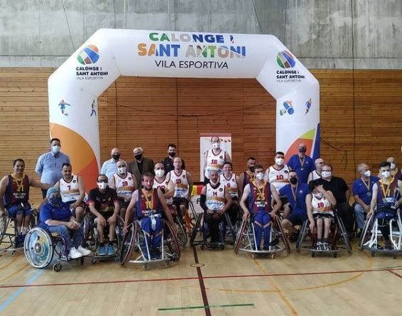 El BCR CEM L'H-Afaniad Vinaròs se quedó cerca de llevarse la Copà Catalunya de Baloncesto en Silla de Ruedas