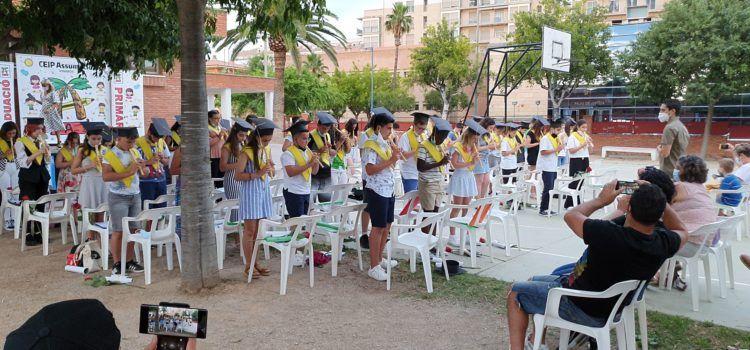 Vídeos i fotos: graduació de 6è al CEIP Assumpció de Vinaròs