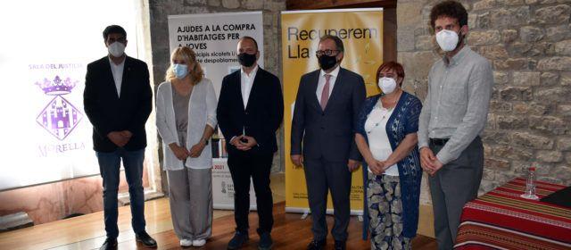 El vicepresident de la Generalitat Valenciana presenta dos plans d'ajudes de vivenda a Morella
