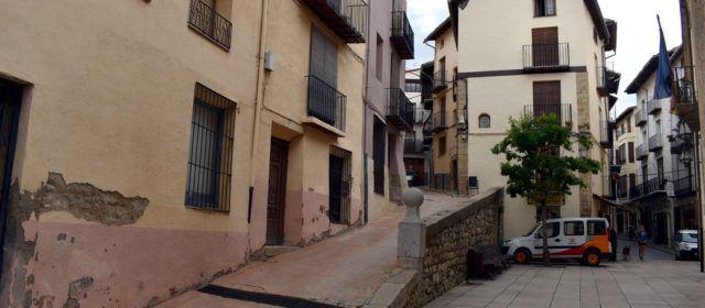 Reunió veïnal per les obres del carrer Zaporta de Morella