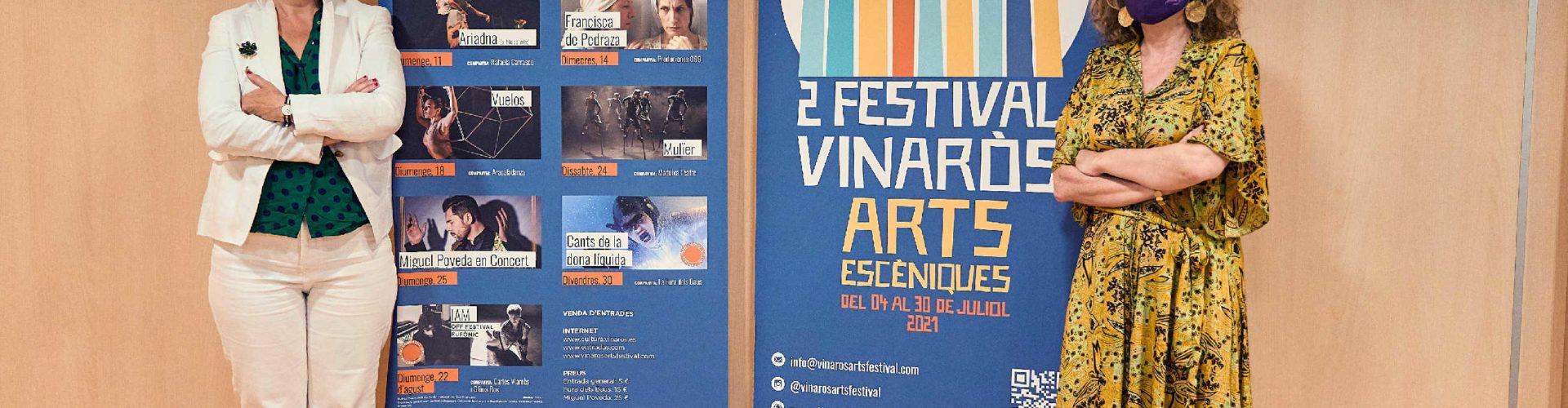 Cultura Vinaròs presenta la segona edició del Festival Vinaròs Arts Escèniques