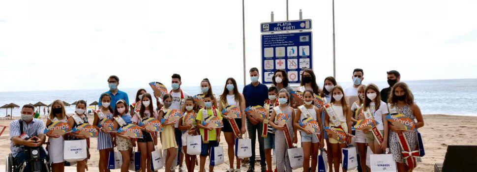 Vinaròs hissa les Banderes Blaves a les platges del Fora Forat i el Fortí