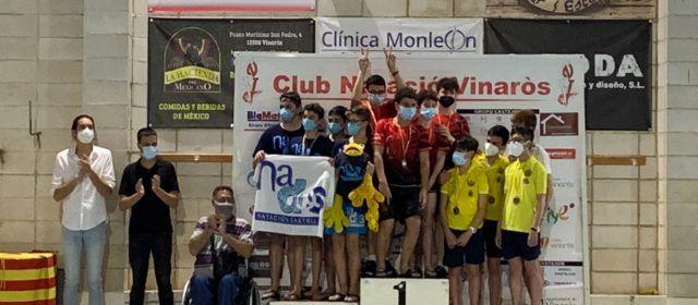 Alvaro Fernandez del CN Vinaròs i Ana Maria Mateo i Yraya Buig del CD Nados Castellón, guanyadors del VII Trofeu Marcelino Fuster