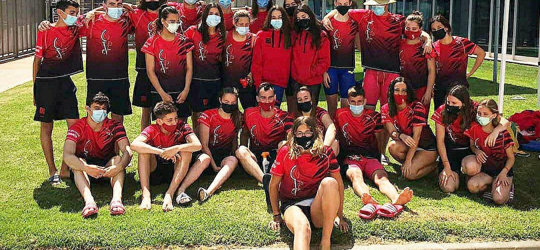 El Club Natació Vinaròs participà en el IX Trofeu CN Delfín