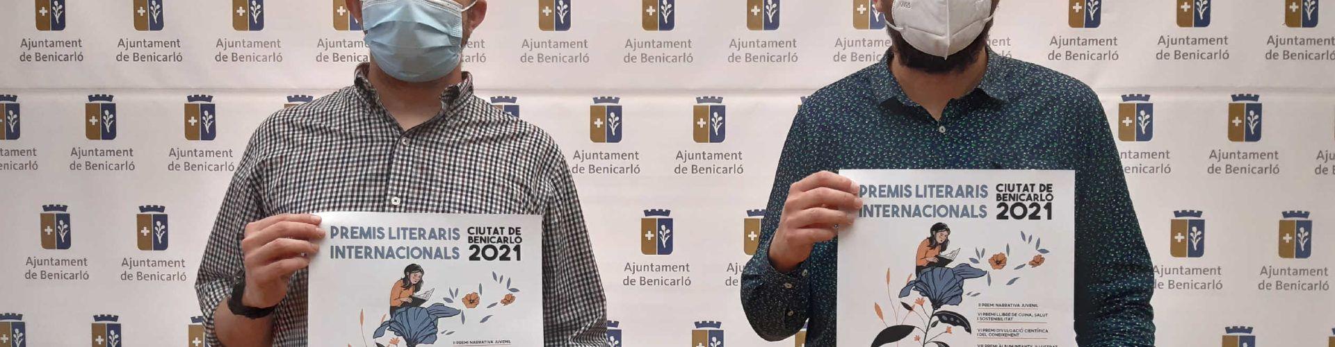 Benicarló arranca un nou cicle dels Premis Literaris amb la presentació de les bases de 2021