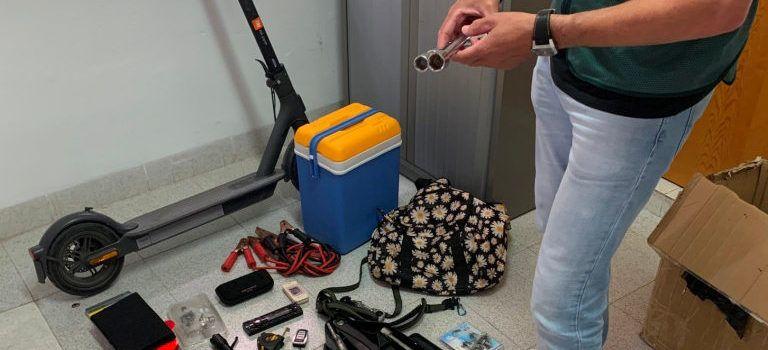 La Guardia Civil detiene al autor del robo y daños en 11 vehículos de pescadores de Vinaròs