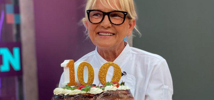 """Número 100 de l'espai de cuina de Maribel Gil a """"Bona Vesprada"""""""