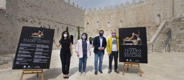 La Diputació de Castelló presenta la XXIV edició del Festival de Teatre Clàssic del Castell de Peníscola que enguany s'inspira en la comèdia
