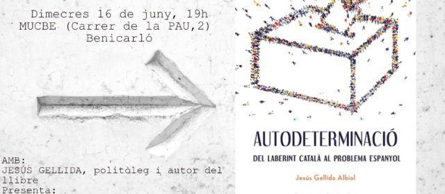 El politòleg, investigador social i escriptor Jesús Gellida presenta en Benicarló el seu nou llibre.