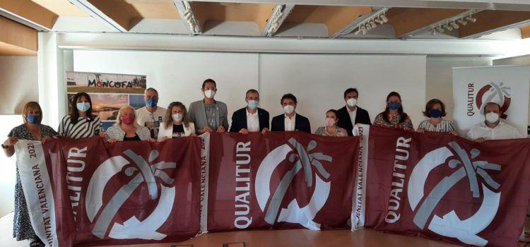 Vinaròs renova les distincions Qualitur que atorga Turisme Comunitat Valenciana