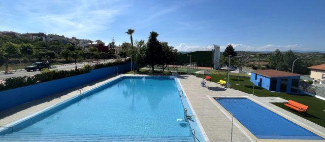 La nova piscina municipal de Càlig ja està acabada