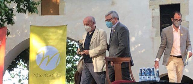 L'Ajuntament de Rossell valora el Premi Maestrat Viu a Joaquim Arnau