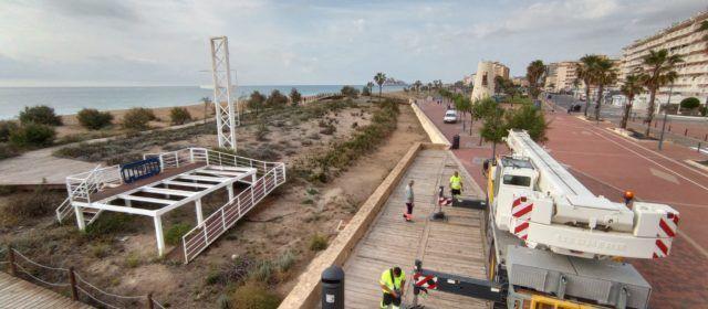 L'Ajuntament de Peníscola inverteix quasi un milió d'euros en les seues platges aquest 2021