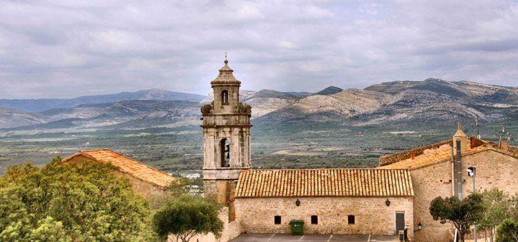 Ben Vist: ermita dels Àngels, Sant Mateu