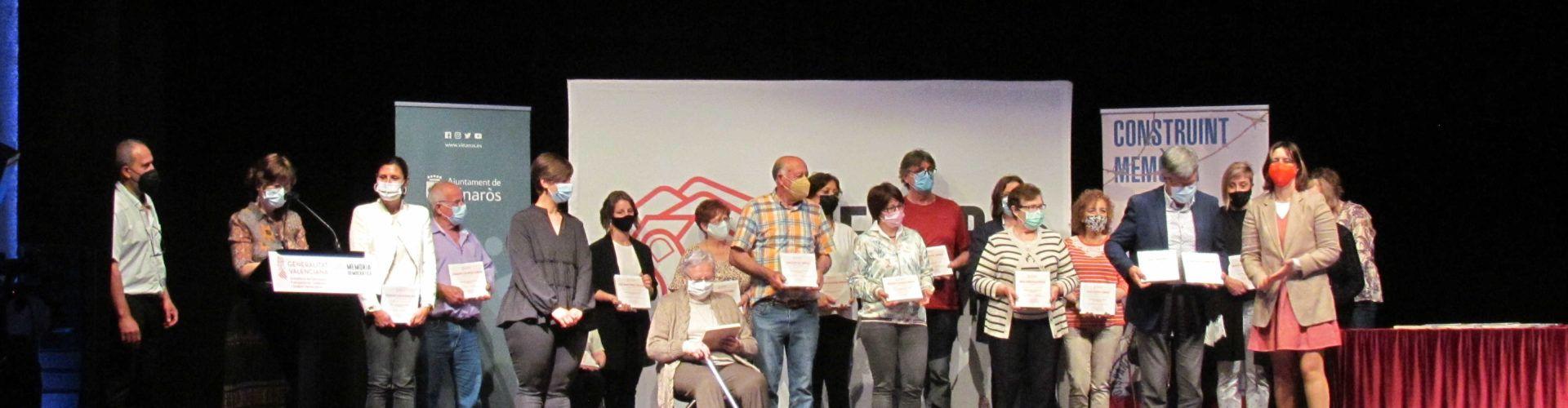 La consellera Pérez Garijo ret homenatge a Vinaròs a 36 persones del Baix Maestrat, víctimes de l'Holocaust