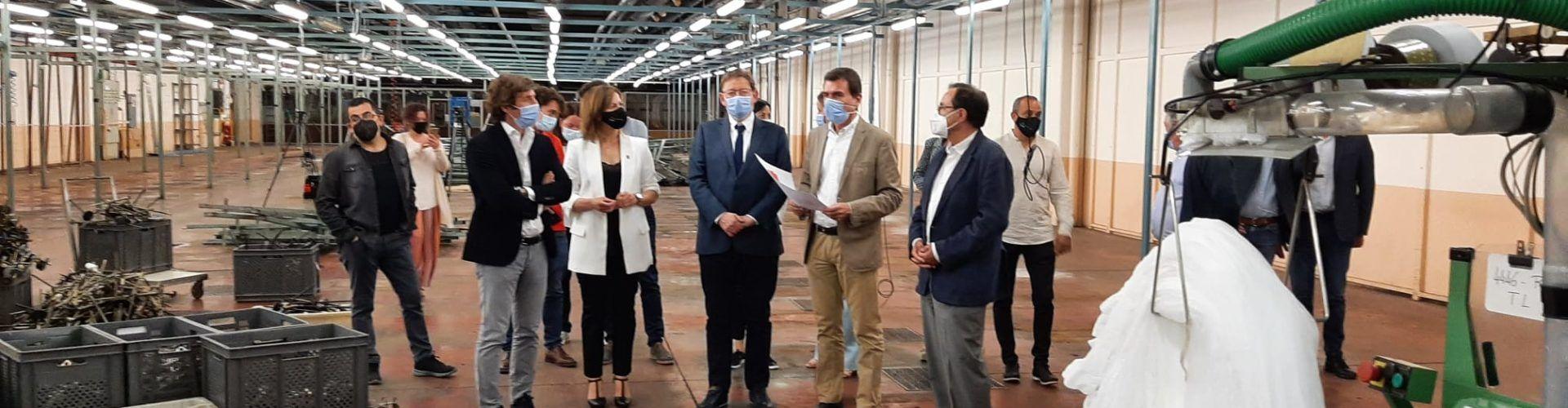 Ximo Puig anuncia que el apoyo financiero del Consell a Marie Claire ascenderá a 12 millones de euros