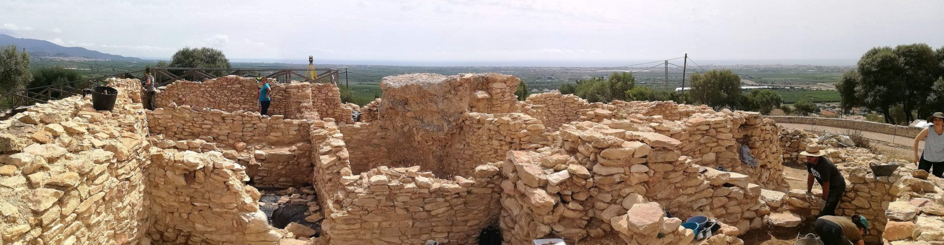 Fotos: excavacions al poblat del Puig de Vinaròs