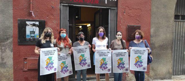 L'Assemblea Vaga Feminista presenta a ajuntaments de les Terres de l'Ebre una moció pel dret efectiu a l'avortament
