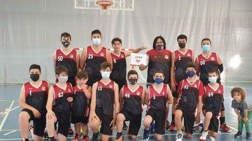 El Infantil masculino del Club Baloncesto Vinaròs se clasifica 1º de grupo por la lucha por el título