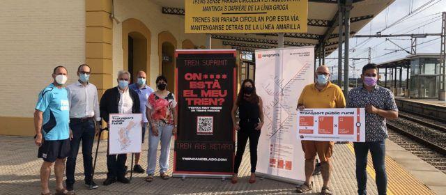 Compromís reclama a l'estació de Vinaròs la recuperació de freqüències i proposa serveis de mobilitat sota demanda